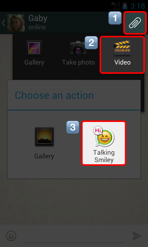 Talking Smiley - screenshot