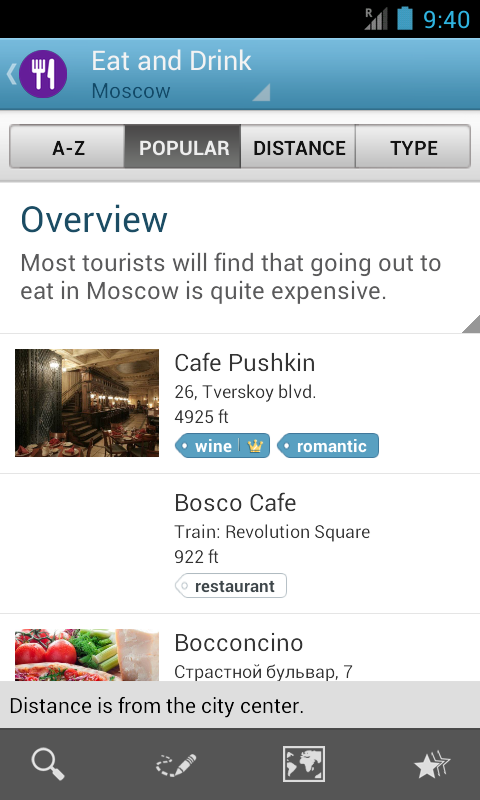 Moscow Travel Guide- screenshot