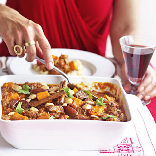 Lamb Tagine With Dates & Sweet Potatoes.