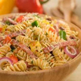 Antipasto Pasta Salad.