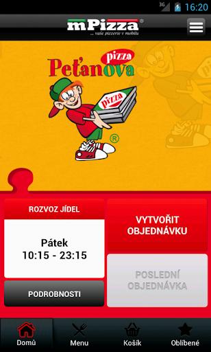 Peťanova pizza Jihlava