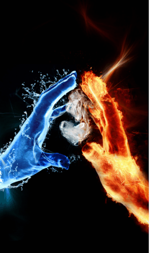 Ice flame Live Wallpaper HD