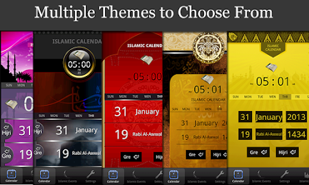 Islamic Calendar (Hijri) Free 1.4 screenshot 417437