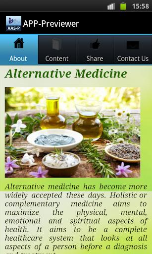 Alternative Medicine For All