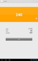 Screenshot of Lux Meter