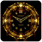 HAMOND ORIENTAL CLOCK WIDGET