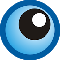 Eyes at home icon