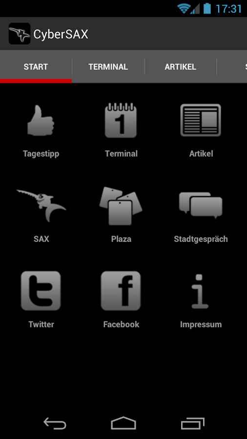 CyberSAX - screenshot