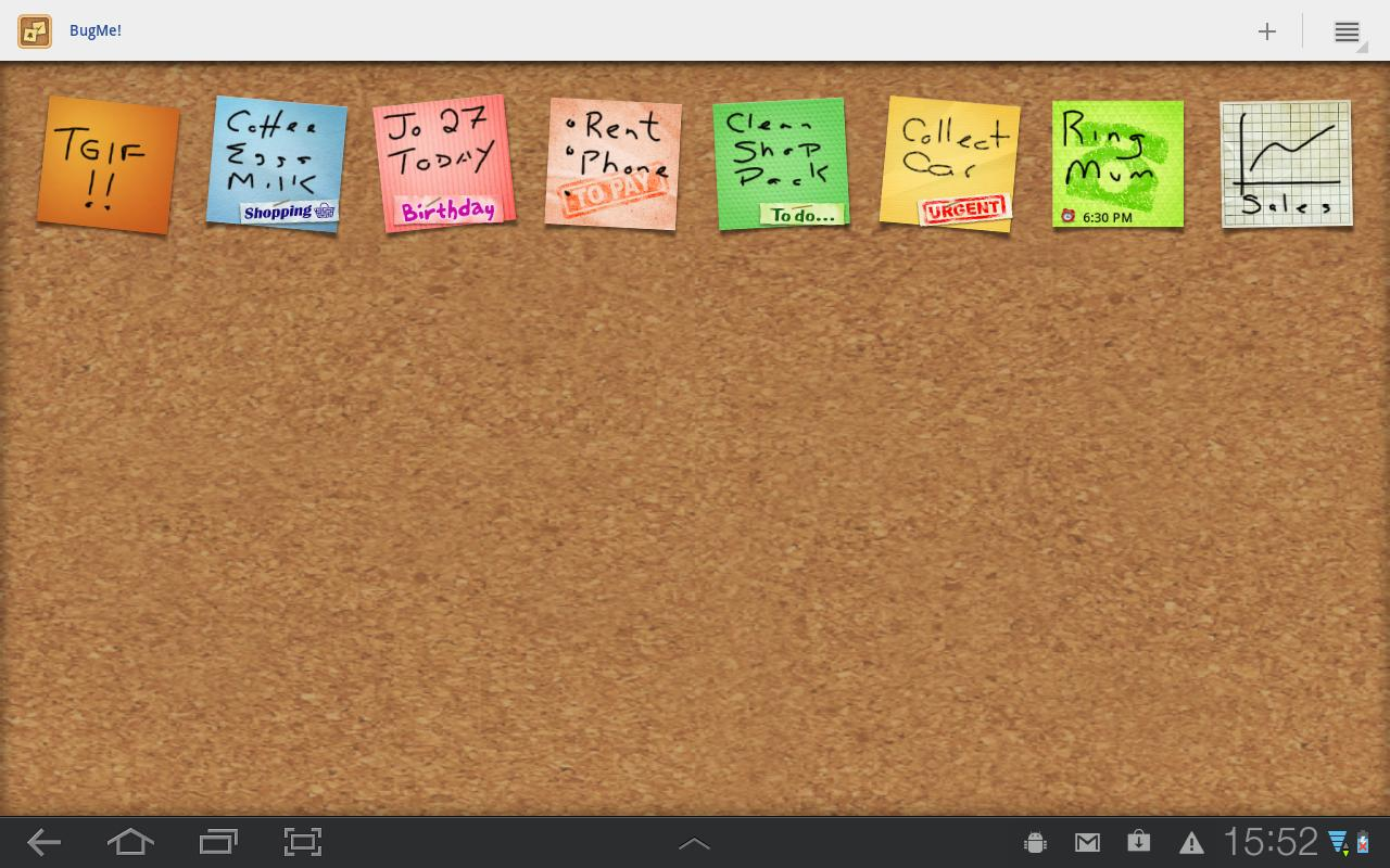 BugMe! Stickies Pro - screenshot