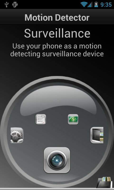 Motion Detector Pro- screenshot