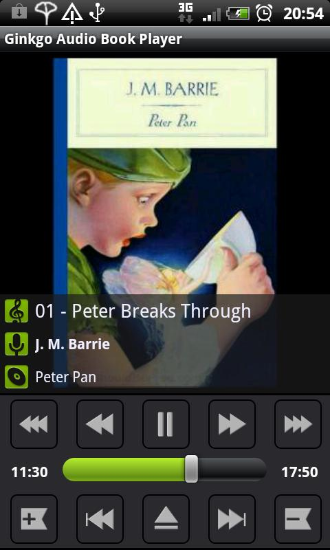 Ginkgo Audiobook Player- screenshot