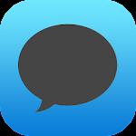 EvolveSMS Dark iOS Blue w/Cont