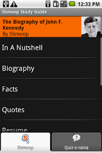 John F. Kennedy: Shmoop Guide - screenshot thumbnail