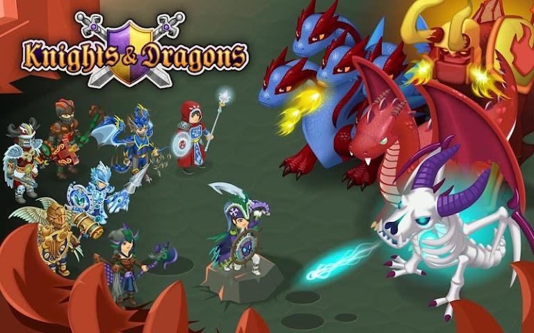 android Knights & Dragons - Action RPG Screenshot 4