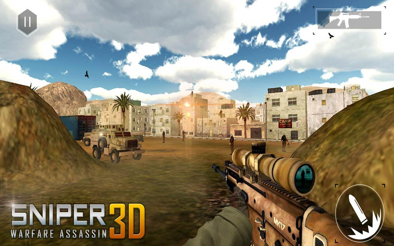 Sniper Guerra Assassin 3D- screenshot