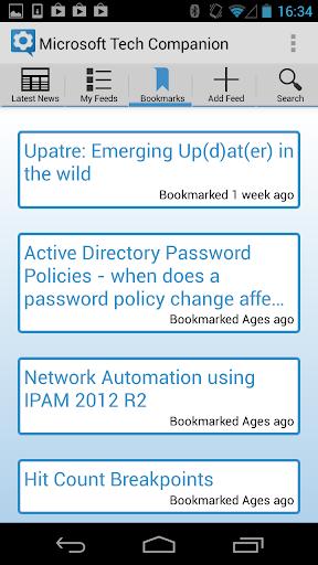 【免費新聞App】Microsoft Tech Companion-APP點子