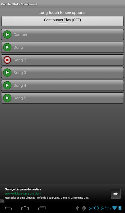 Counter Strike Soundboard - screenshot