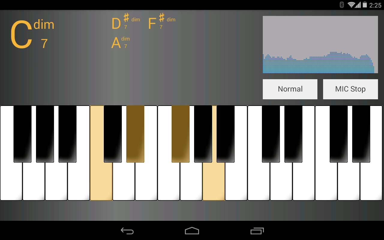Chord analyzer android apps on google play chord analyzer screenshot hexwebz Choice Image