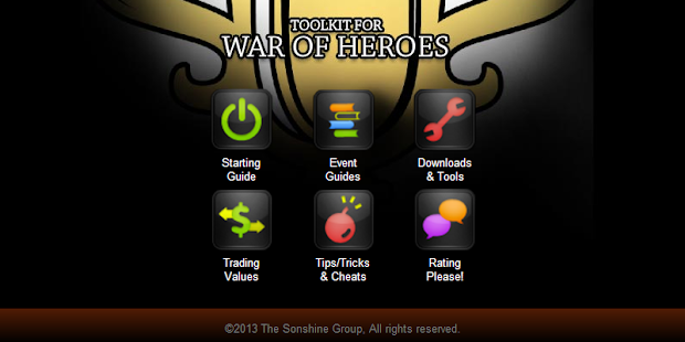 Toolkit 4 Marvel War of Heroes
