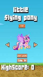 Little Flying Pony 8bit