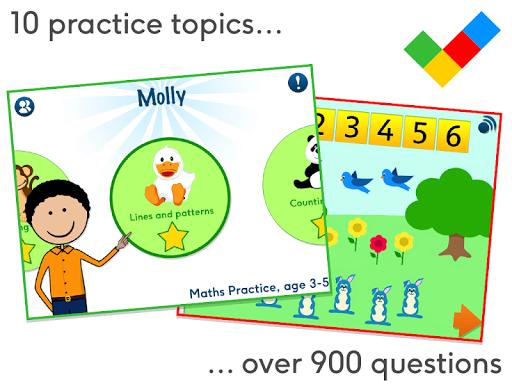 Maths Practice age 3-5