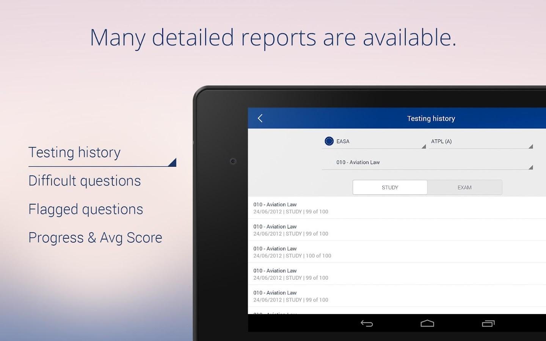 Aviation Exam - screenshot