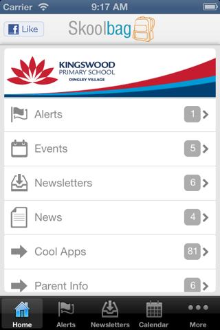 Kingswood Primary School - screenshot