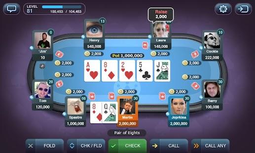 Texas Hold'em Poker by Yazino