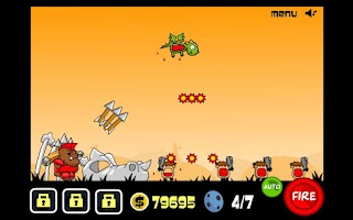 Screenshot of Bamboo Dino
