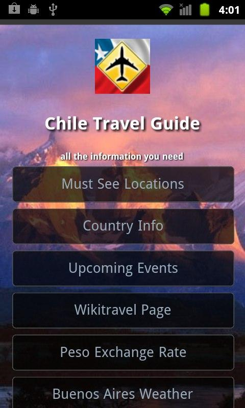 Chile Travel Guide- screenshot
