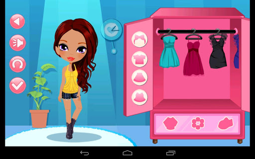 Dress Up Cute Girl Fashion