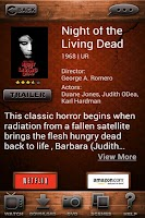 Screenshot of Best Horror Movies Dtbase FREE