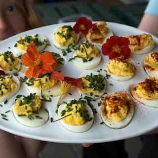 Golden Corral's Deviled Eggs.