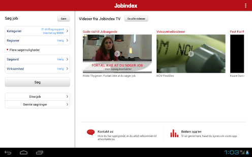 Jobindex Job App- screenshot thumbnail