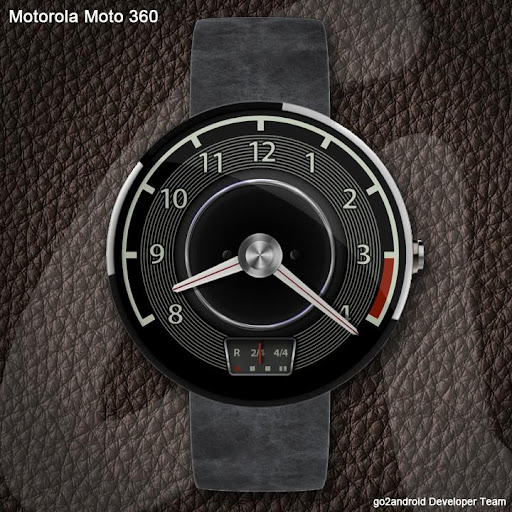 DB 280SE AndroidWear WatchFace