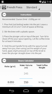 Coffee Nerd - Brewing Guide- screenshot thumbnail