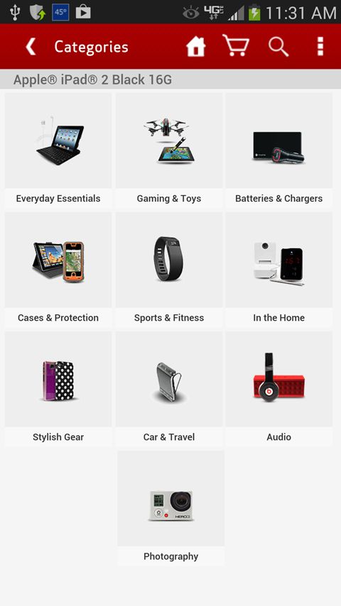Verizon Accessories - screenshot
