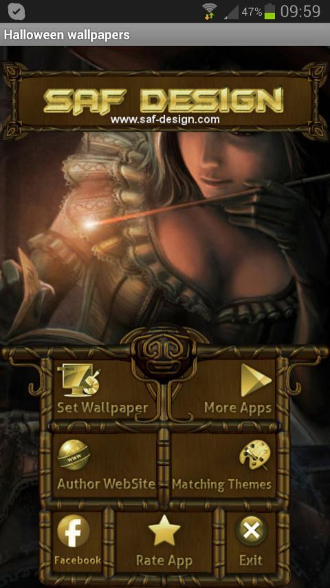 Halloween GO Launcher EX Theme - screenshot