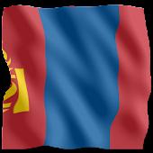 3D Flag Mongolia LWP