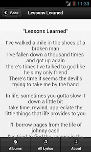Handy Lyrics - Aaron Lewis - screenshot thumbnail