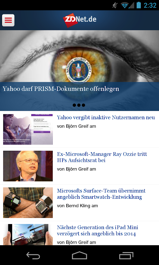 Tech News - ZDNet.de- screenshot