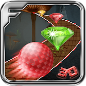 Diamond Rush - 3D Ball Game