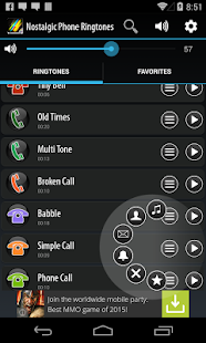 Nostalgic Phone Ringtones- screenshot thumbnail