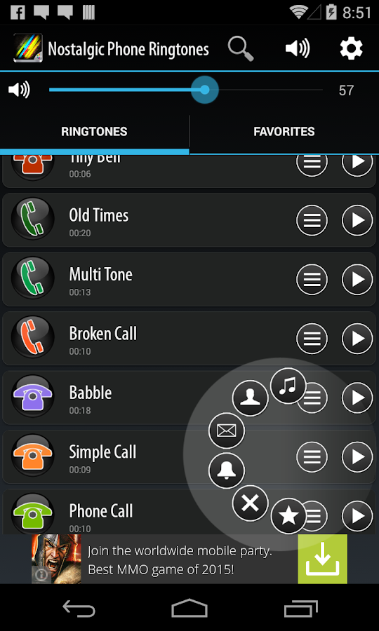 Nostalgic Phone Ringtones- screenshot