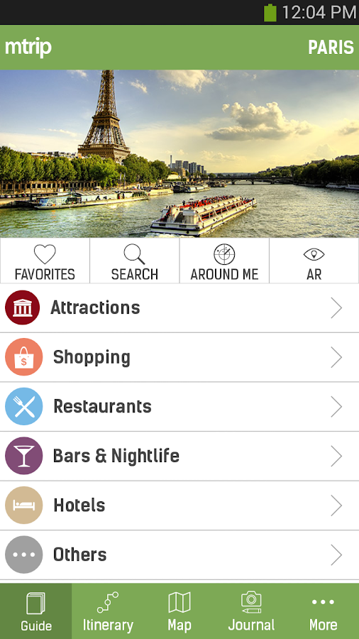 Paris Travel Guide – mTrip- screenshot