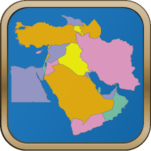 Middle east map puzzle android apps on google play middle east map puzzle gumiabroncs Images