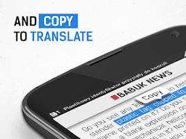 Screenshot of Copy Translate