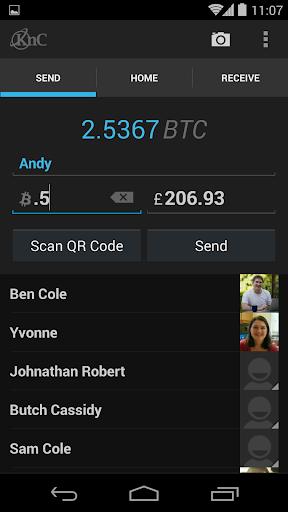 KnC Bitcoin Wallet