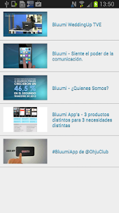 Bluumi- screenshot thumbnail