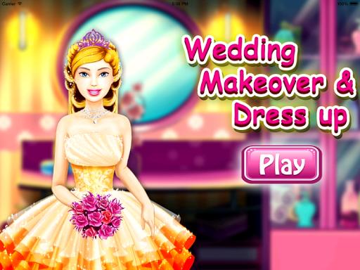 Girls games Make up Dress up